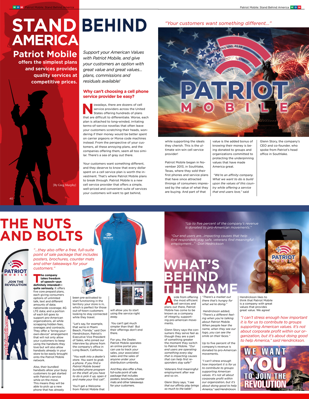 Stand Behind America: Patriot Mobile